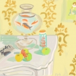 THE GOLDFISH BOWL (AFTER MATISSE)